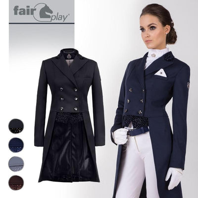 Fair Play Betty Softshell Tailcoat-Show jacket-Southern Sport Horses