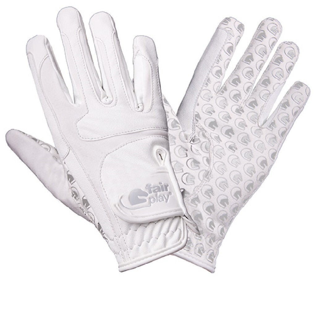 Fair Play Contour Silicon Grip Gloves-Gloves-Southern Sport Horses