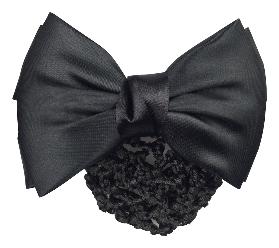 Hamag Hair Bow with Crocheted Bun Net-Hamag-Southern Sport Horses