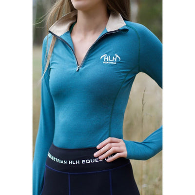 HLH Equestrian Apparel Base Layers-Base layer-Southern Sport Horses