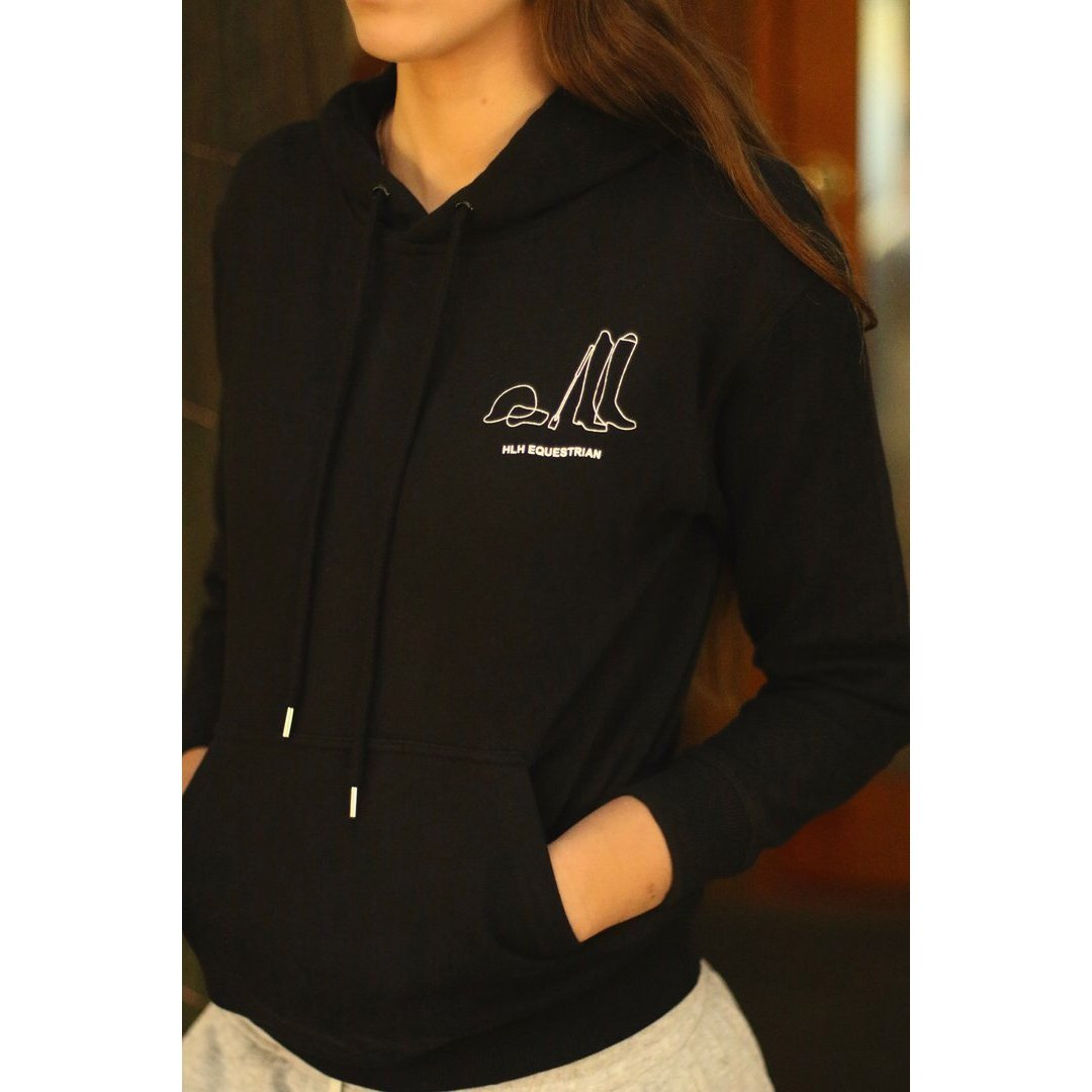 HLH Equestrian Apparel 'It's All About The Horse' Hoodie-Hoodie-Southern Sport Horses