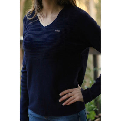 HLH Equestrian Apparel Luxe Sweater-Sweater-Southern Sport Horses