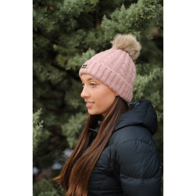 HLH Equestrian Apparel Luxe Winter Beanie-Beanie-Southern Sport Horses