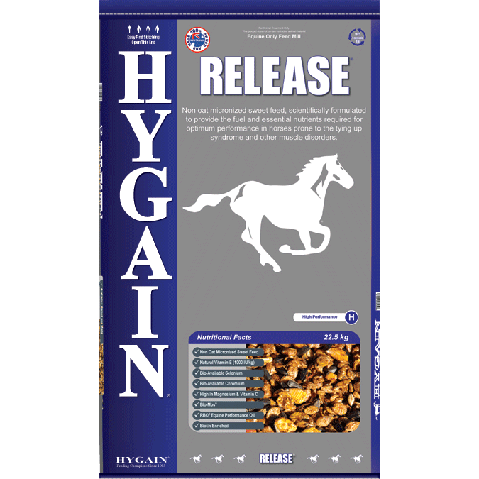 Hygain Release 20kg-feed-Southern Sport Horses