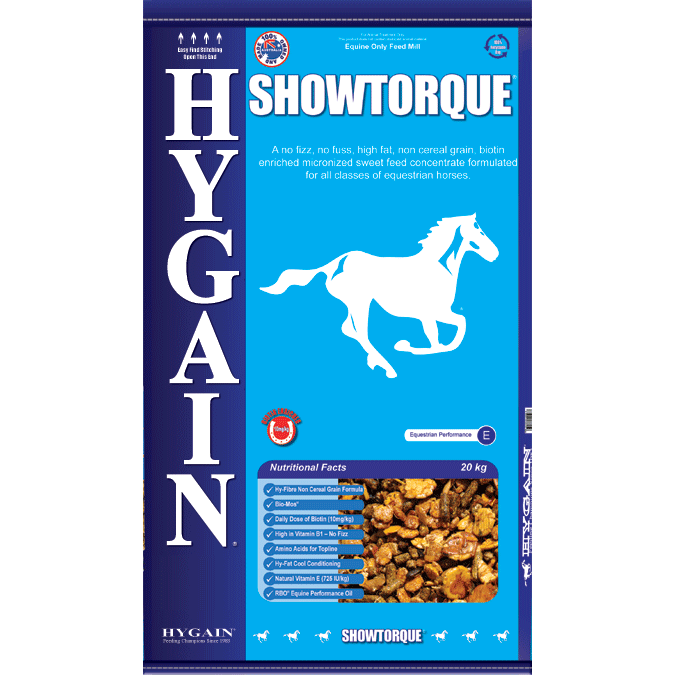 Hygain Showtorque 20kg-feed-Southern Sport Horses
