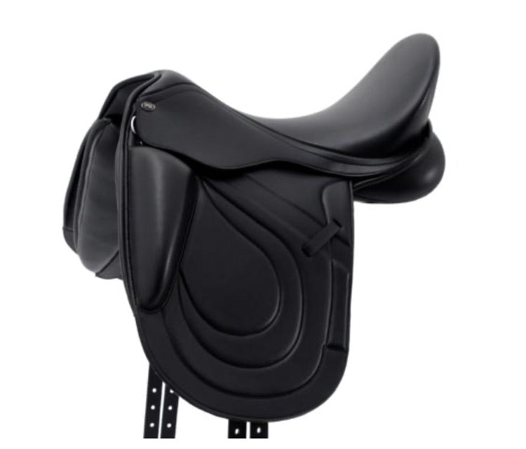 Premier Equine NEW Bletchley Synthetic Mono Flap Dressage Saddle