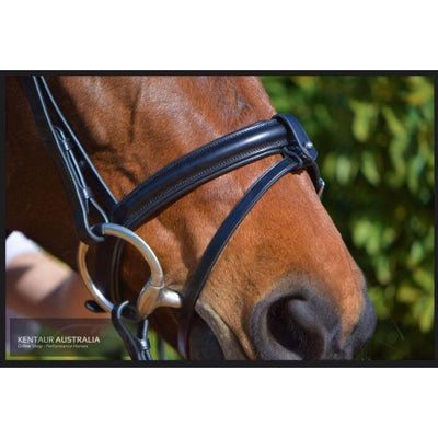 Kentaur 'Classic' Bridle with Rubber Reins-bridle-Southern Sport Horses