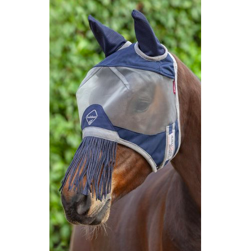 LeMieux Armour Shield Fly Mask (nose fringe)-fly mask-Southern Sport Horses