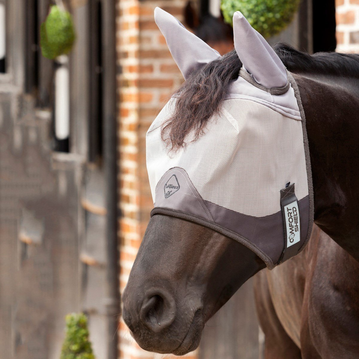 Comfort Shield Luxury Half Mask-fly mask-Southern Sport Horses