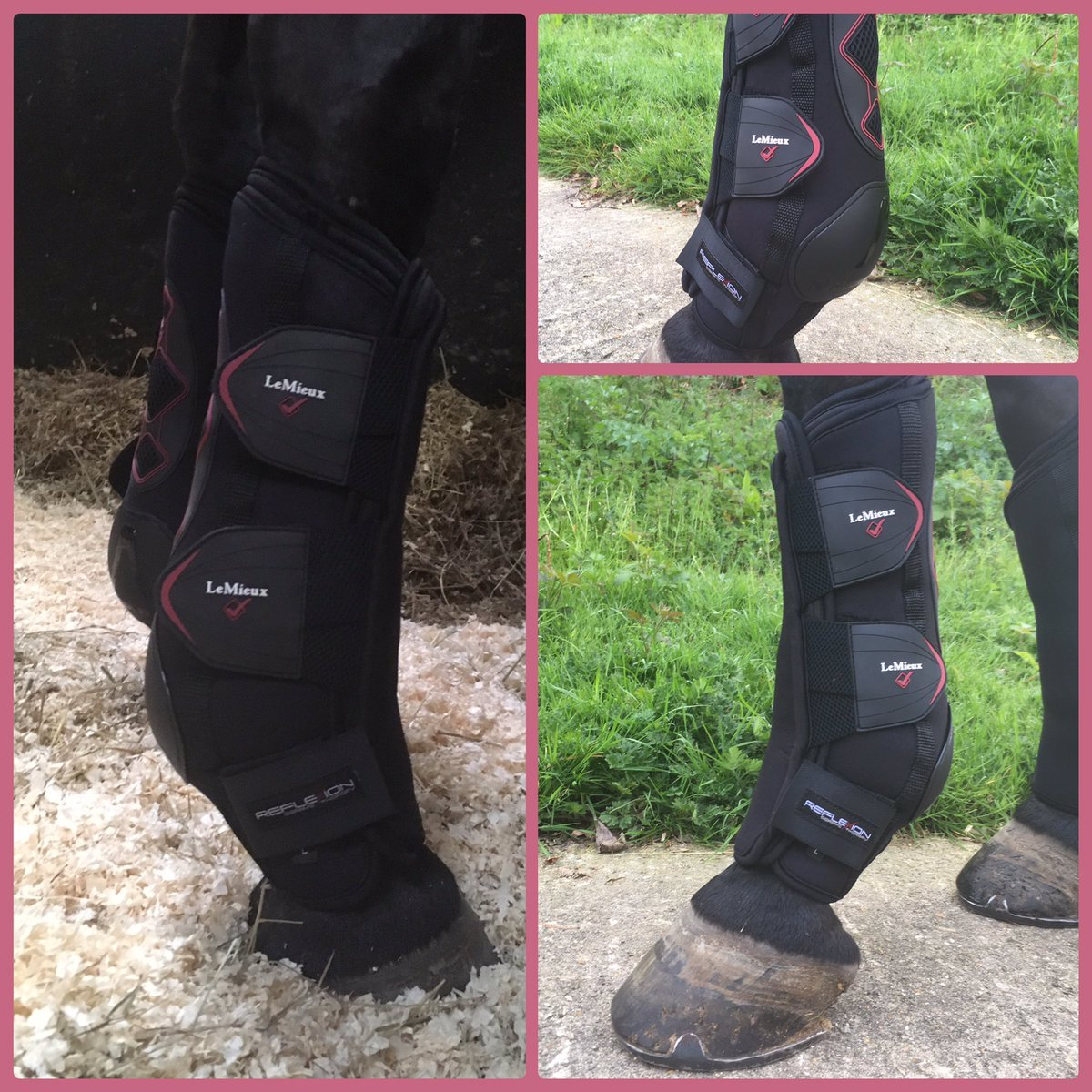 LeMieux Reflexion Ceramic Therapy Boots-Boot-Southern Sport Horses