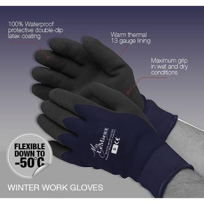 LeMieux Yard Master Thermal Work Gloves-Gloves-Southern Sport Horses
