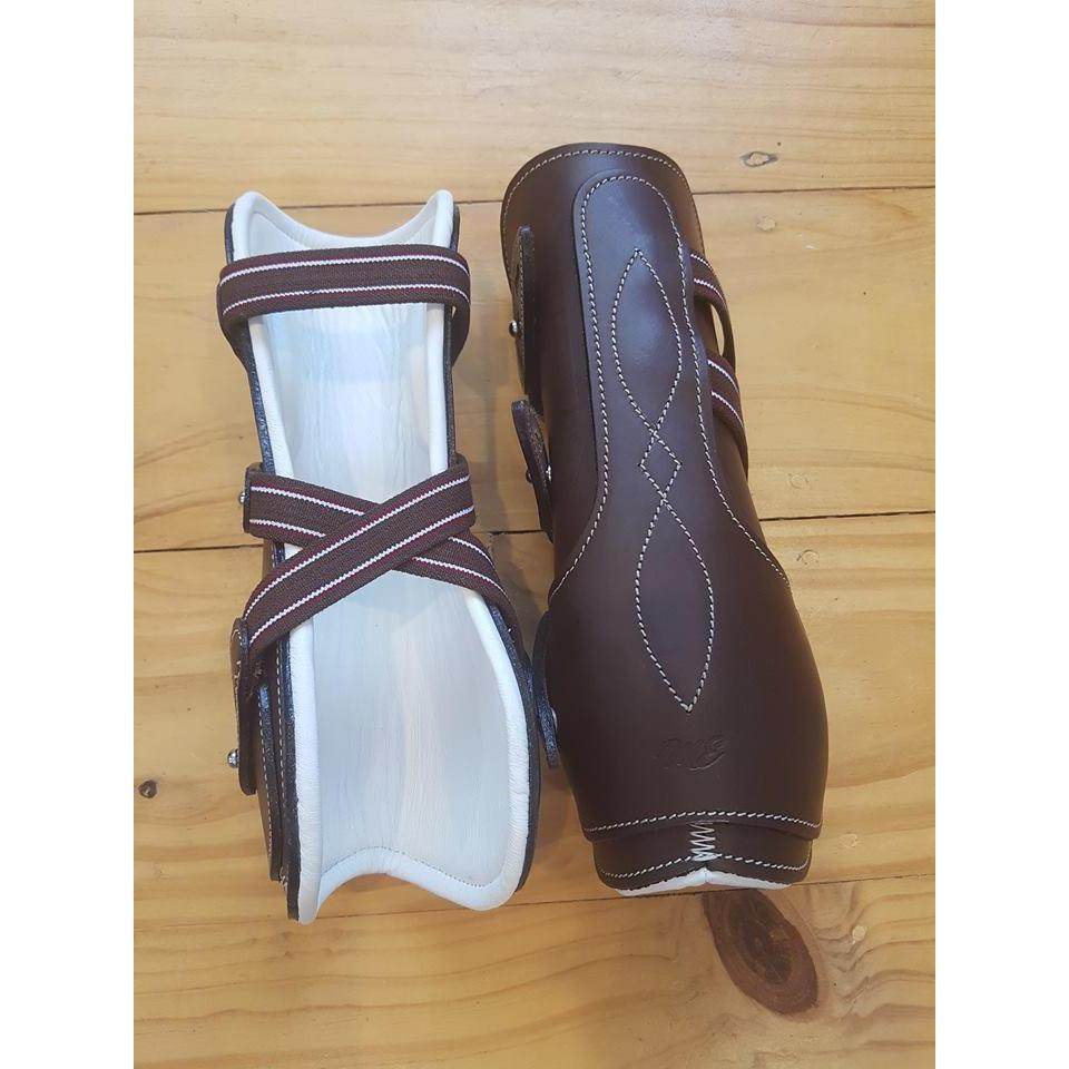 Maxwell Leather Tendon Boots-boot-Southern Sport Horses