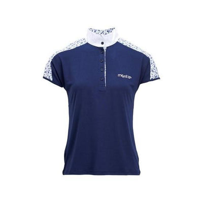Montar Sara Flower Competition Shirt-Top-Southern Sport Horses