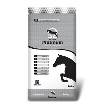 Omega No Grain Platinum 20kg-feed-Southern Sport Horses