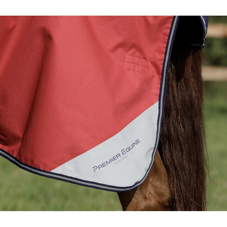 Premier Equine Nardus Stratus 0g Turnout Rug with Neck Cover