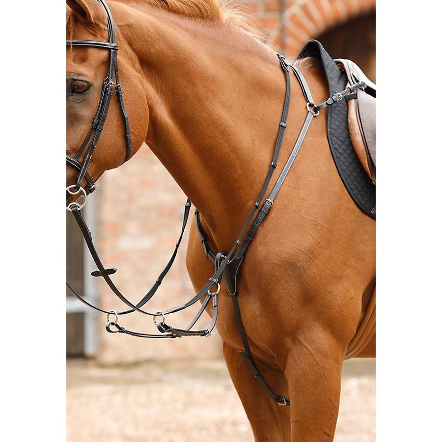 Premier equine Norbello Hunter Breastplate-Breastplate-Southern Sport Horses