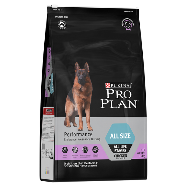 Purina Pro Plan Performance All Sizes All Life Stages 12kg-Dog Food-Southern Sport Horses