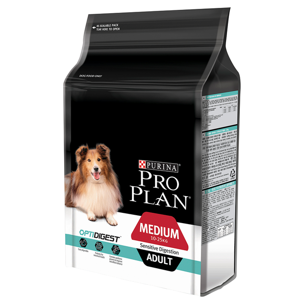 Purina Pro Plan Sensitive Digestion Medium Adult 12kg-Dog Food-Southern Sport Horses