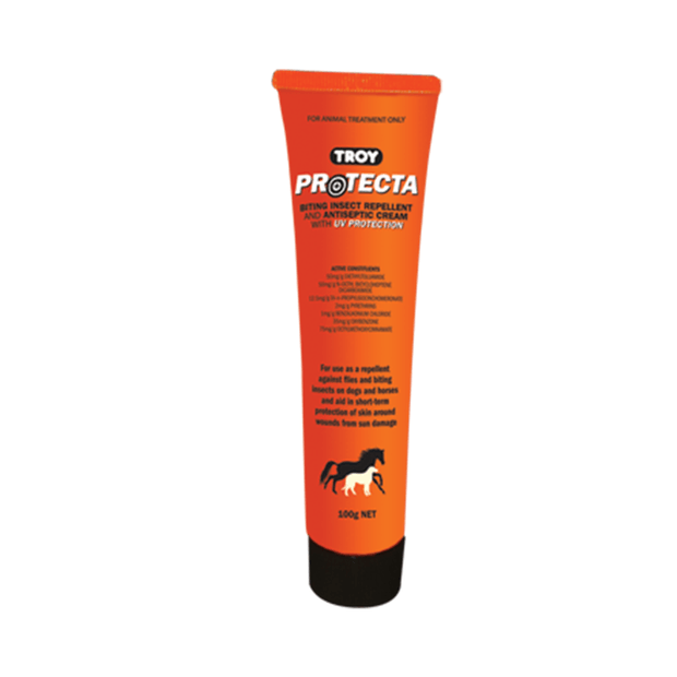 Troy Protecta Biting Insect Repellent and Antiseptic Cream with UV Protection