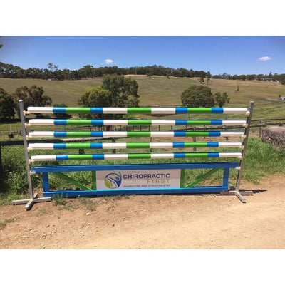 Turned Showjump Rails-Southern Sport Horses-Southern Sport Horses