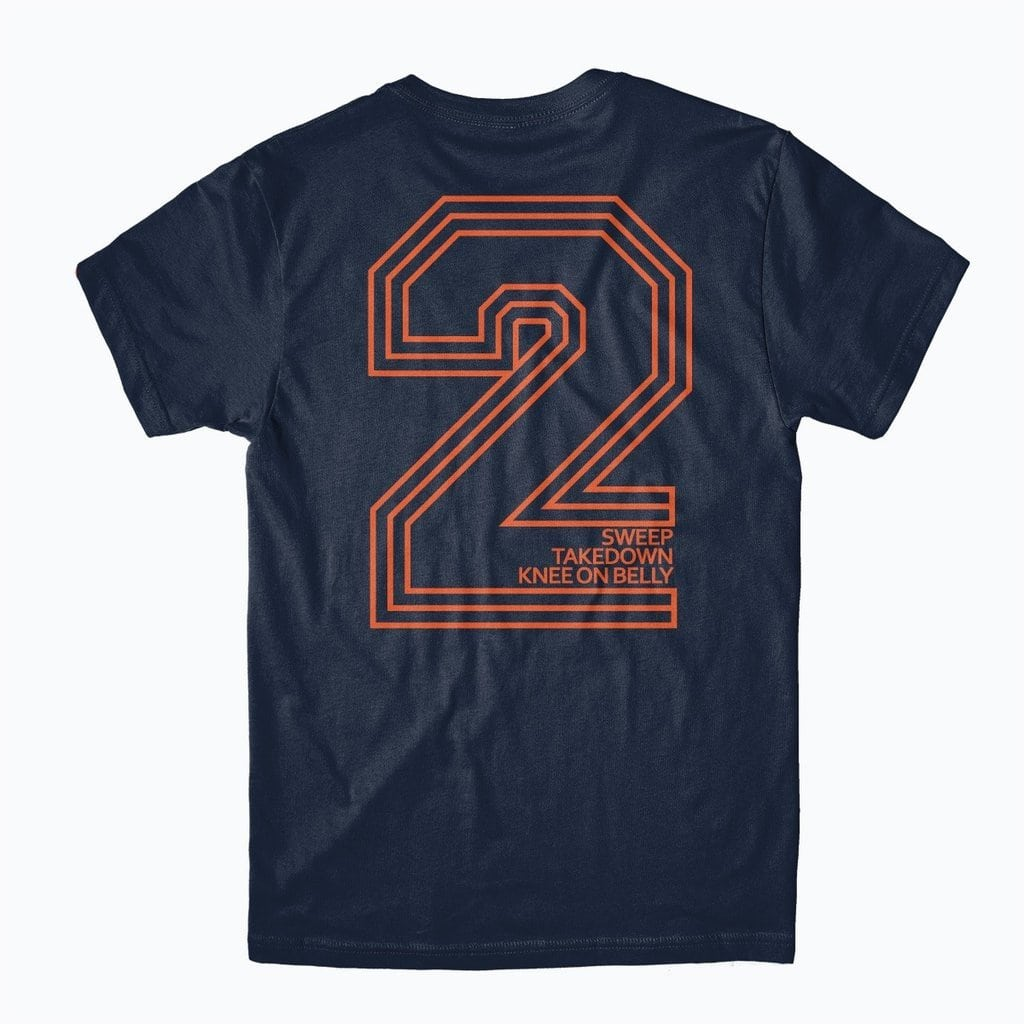 2 Points Tee - Navy