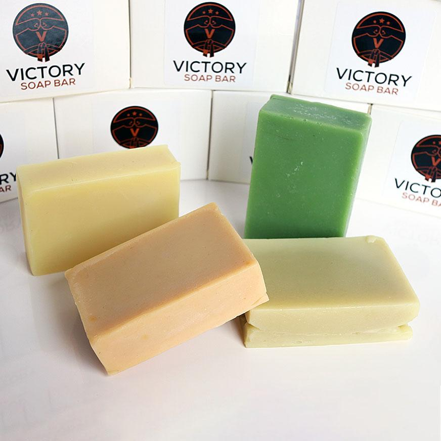 Box of 4 Soap Bars