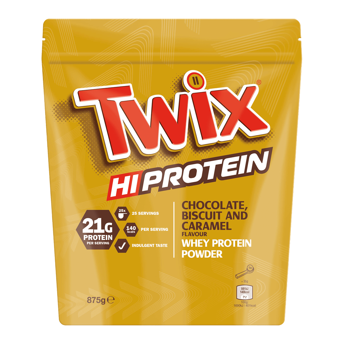 Twix Hi-Protein Whey Powder