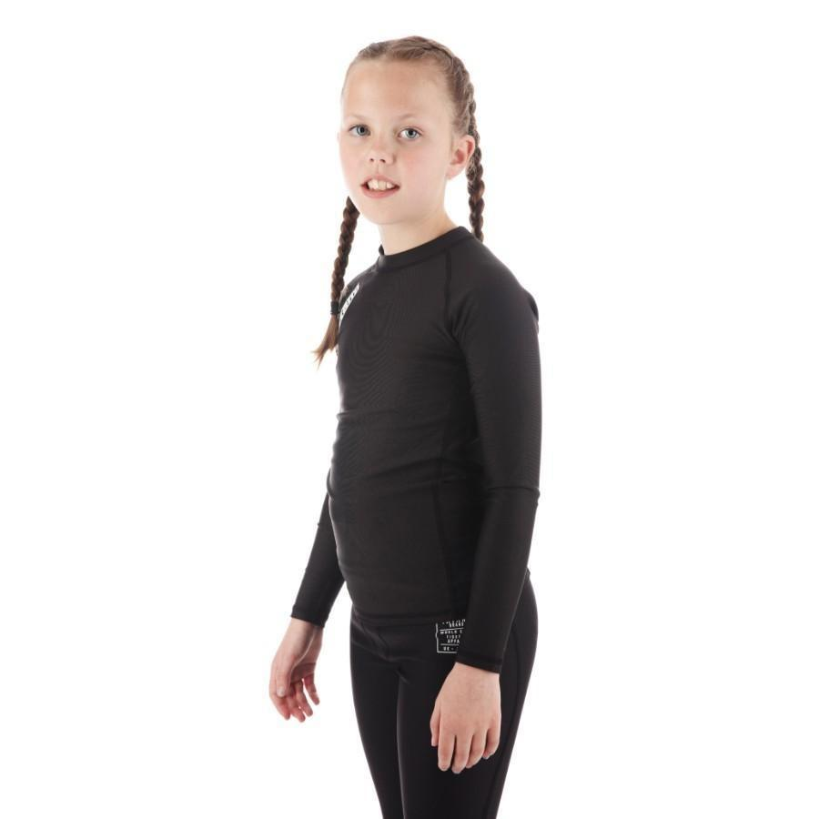 Kids Nova Rash Guard - Black