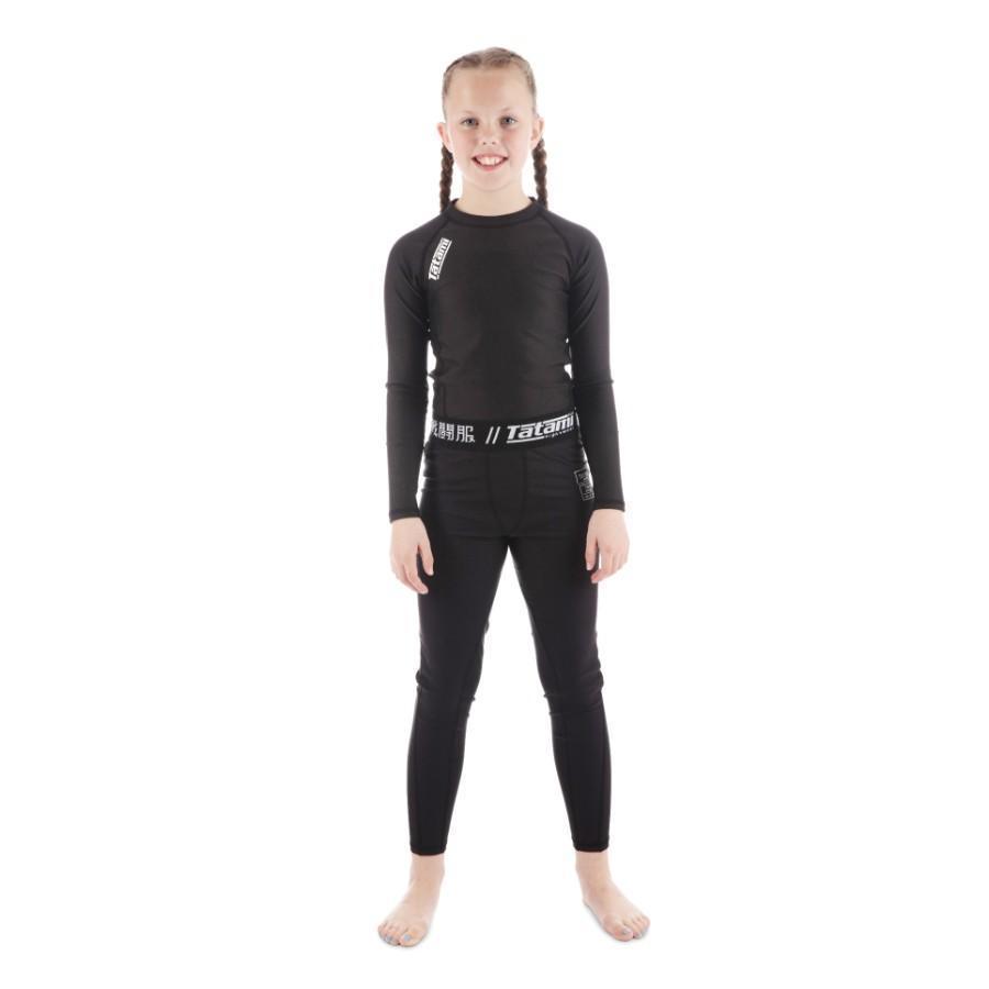 Kids Nova Spats - Black