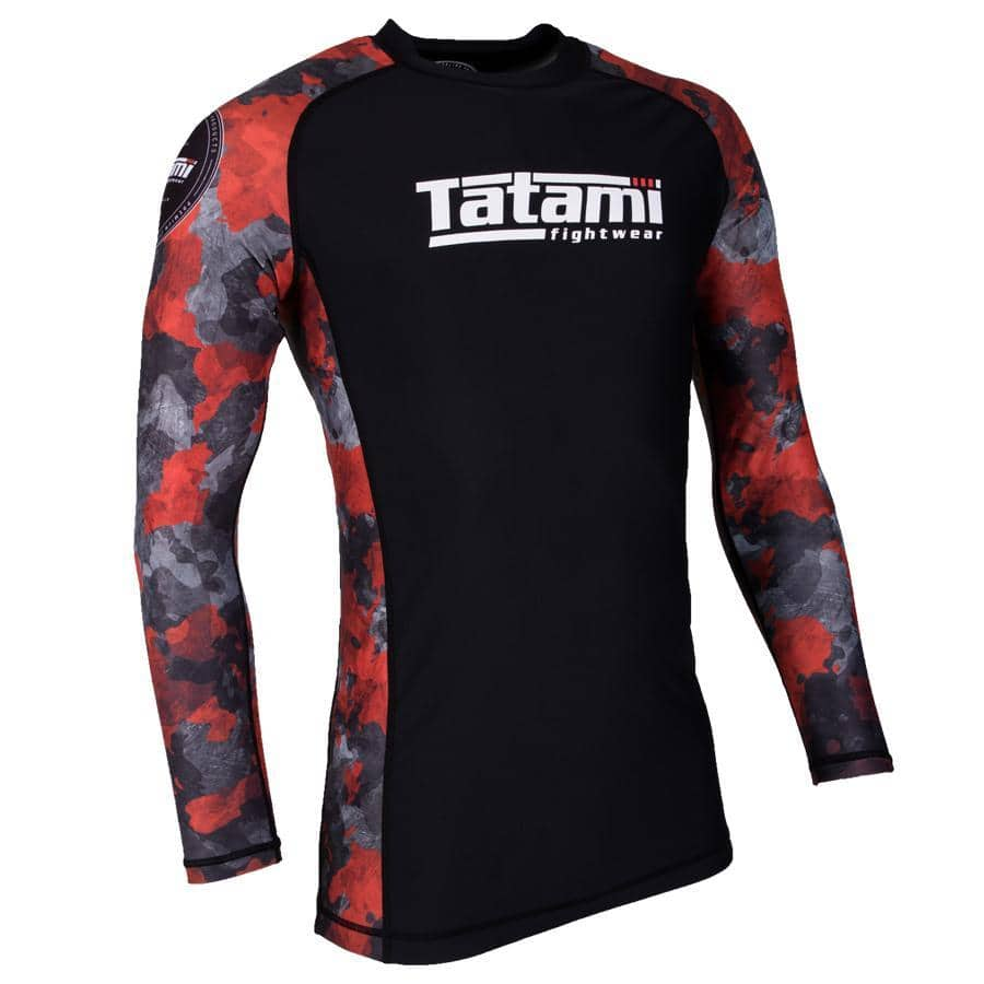 Renegade Long Sleeve Rash Guard - Red Camo