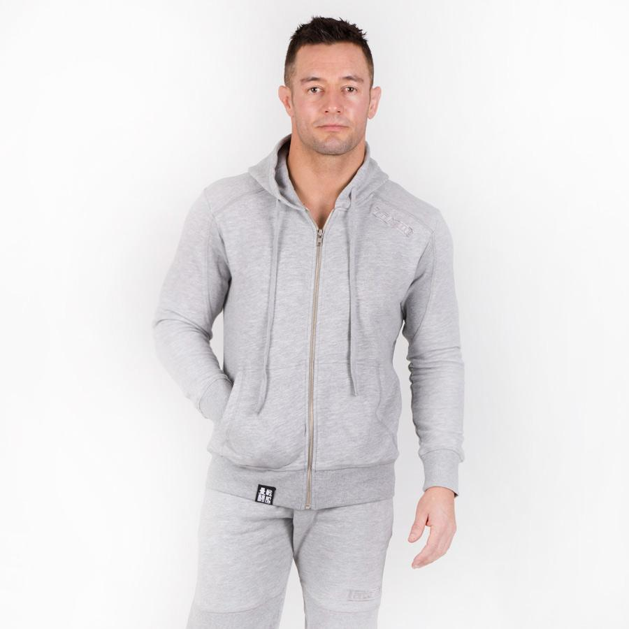 Athletic Grey Tracksuit