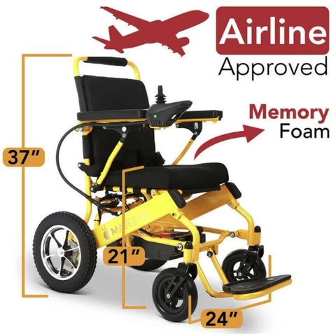 ComfyGo IQ-8000 Airline Approved With Memory Foam