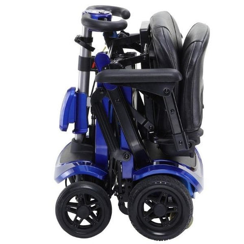 Drive Medical ZooMe Flex 4 Wheel Scooter Ready to Storage View