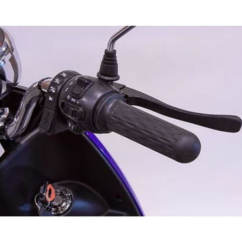 E-Wheels Bugeye 3-Wheel Mobility Scooter Brake Lever View