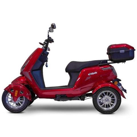 E-Wheels EW-75 Four Wheel Electric Mobility Scooter Side View