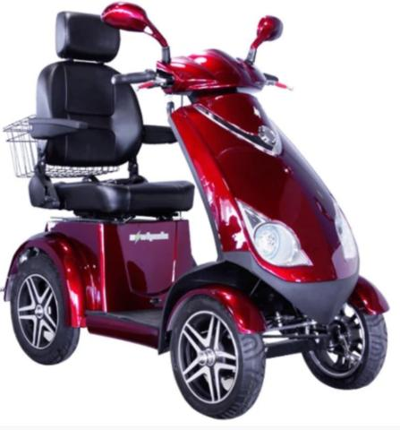 E-Wheels EW-72 Bariatric Electric 4-Wheel Scooter