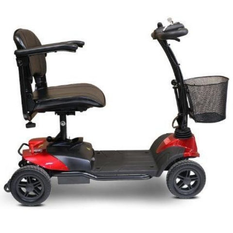 EWheels EW-M35 4-Wheel Mobility Scooter Red Right Side View