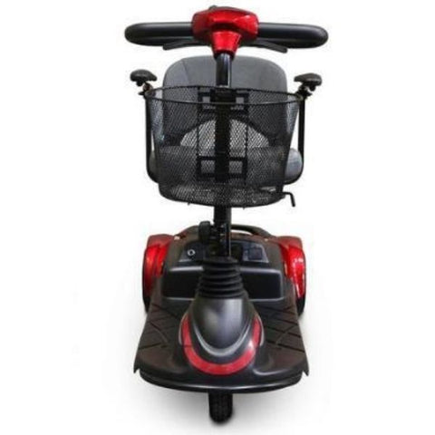 EWheels EW-M40 4-Wheel Mobility Scooter Red Front View