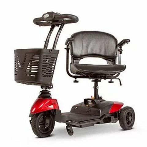 EWheels EW-M33 Three Wheel Travel Scooter Front and Seat View