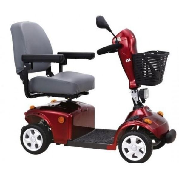 FreeRider USA FR168-4S 4 Wheel Bariatric Scooter Right View