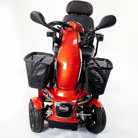 FreeRider USA FR1 Front Wheel, Headlights and Front Basket