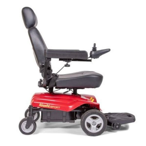 Golden Technologies Alante Sport Power Wheelchair Right Side View