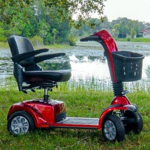 Golden Technologies Companion 4-Wheel Bariatric Scooter GC440D Side View