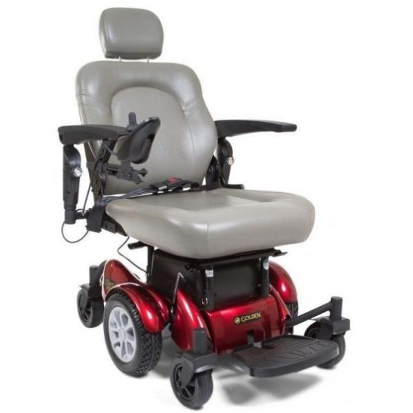 Golden Technologies Compass HD Bariatric Power Chair GP620M Front View