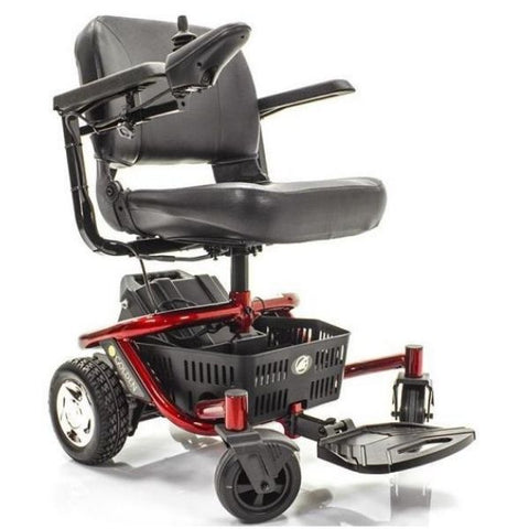 Golden Technologies LiteRider Envy GP162B Power Chair PTC Red Side View