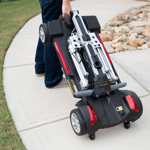 Golden Technologies Buzzaround Carry On Folding  Ready to Hand Carry