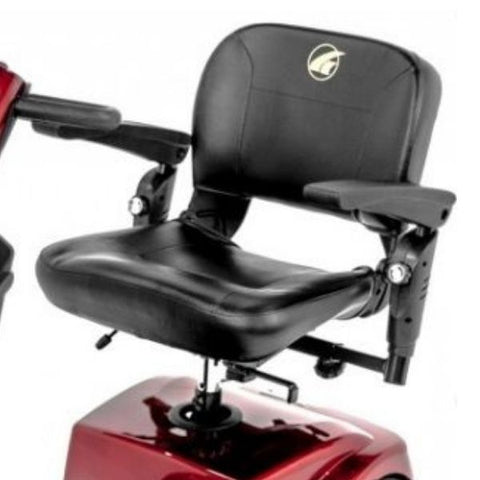 Golden Technologies Companion 4-Wheel Bariatric Scooter GC440D Seat View