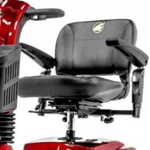 Golden Technologies Companion Mid 3-Wheel Scooter GC240 Seat View