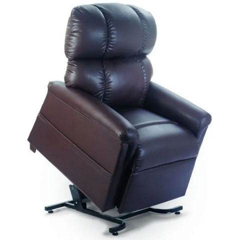 Golden Technologies MaxiComforter Zero Gravity Lift Chair PR-535 Coffee Bean Brisa Fabric Front Right View