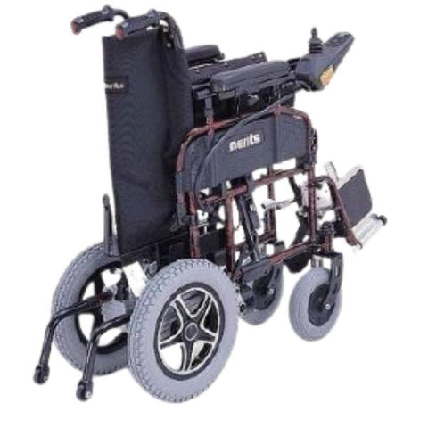 Merits Health P101 Travel-Ease Electric Folding Power Chair Folded View
